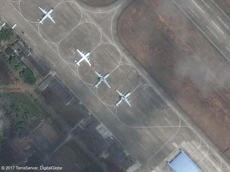 卫星图像显示,中国已将它最新的空中预警指挥机部署到位于海南岛一处