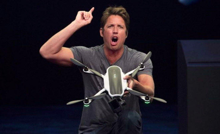 KARMA中国首秀,GoPro真靠这款无人机翻身了?