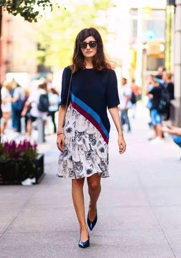 今年春夏流行的中长裙 要怎么穿才能不失手