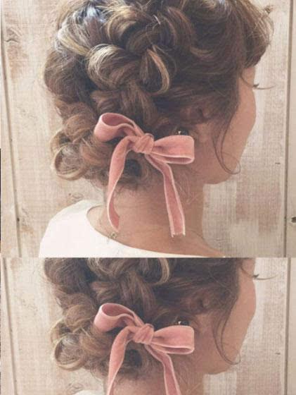 女生们都在迷这个 丝绒发带才是最时髦发饰