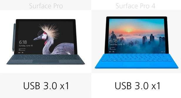 都有那些升级?前后两代Surface Pro规格参数对比的照片 - 12
