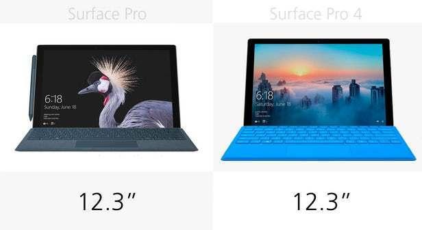 都有那些升级?前后两代Surface Pro规格参数对比的照片 - 5