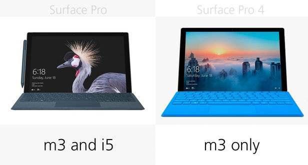 都有那些升级?前后两代Surface Pro规格参数对比的照片 - 8