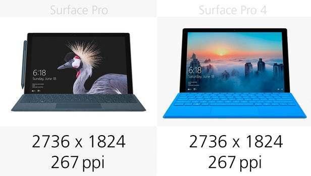 都有那些升级?前后两代Surface Pro规格参数对比的照片 - 6