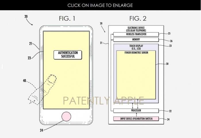 苹果接触京东方或是为了屏幕内Touch ID解决方案  aso优化 第2张