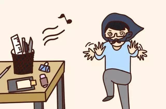 避免自己造成噪音,蹑手蹑脚图片