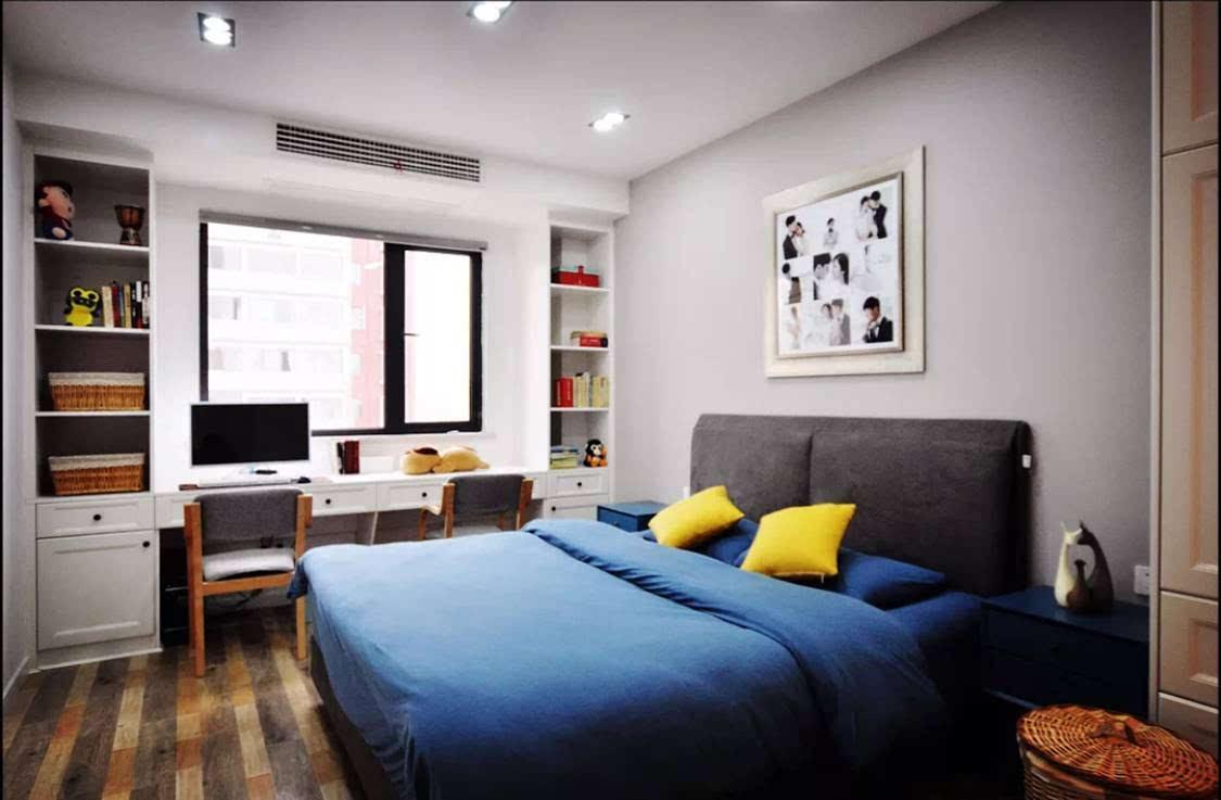 除了榻榻米,书房 客卧这样装,也是实用又漂亮!