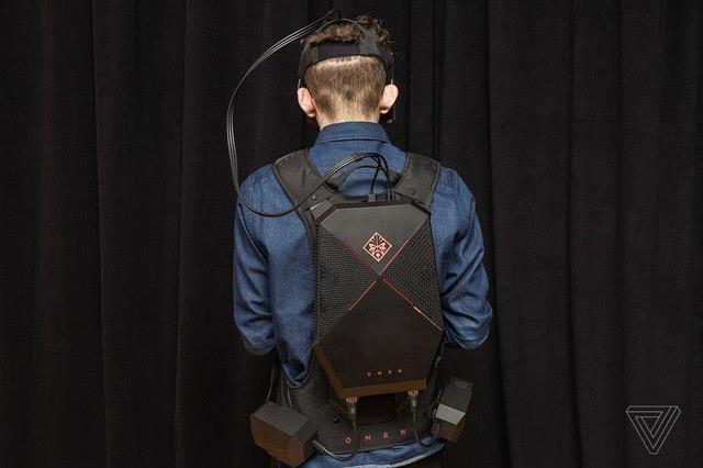 惠普推出Omen X VR背包 实现一机两用