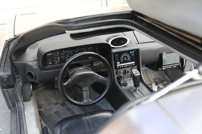 影迷自制iPadAPP为《回到未来》时光车开通Carplay功能