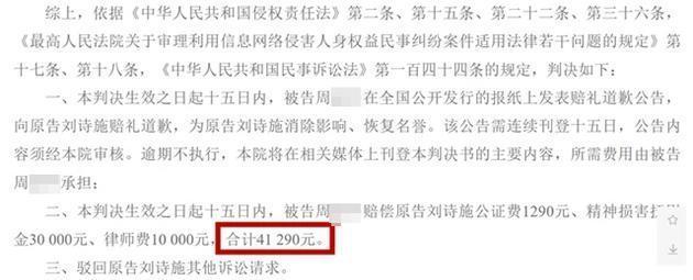 被恶意造谣出轨离婚,刘诗诗起诉造谣者获胜