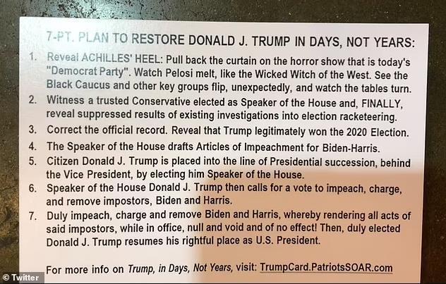 """神秘卡片助特朗普重夺白宫美保守派政治行动会议曝光""""离奇计划"""""""