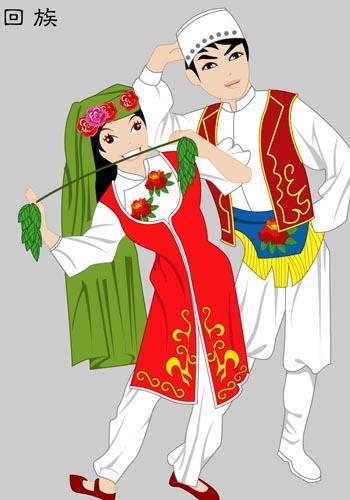 中国56个民族服饰,我也好想穿一次!(一)