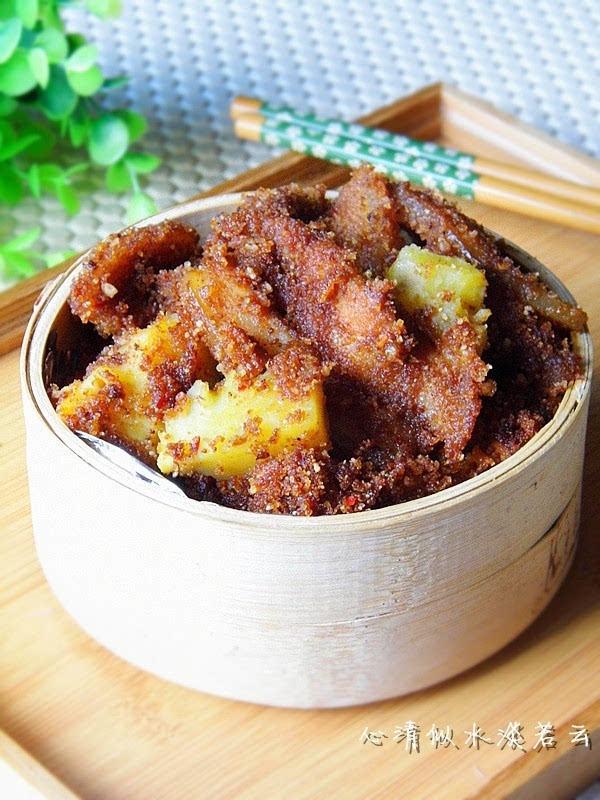 宴客蒸美食做肉粉无比的自制菜【川味美味粉蒸红薯文txt微盘图片