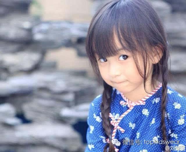 5岁汉服小萝莉刘楚恬超级萌萌哒动态你棒表情包最图片