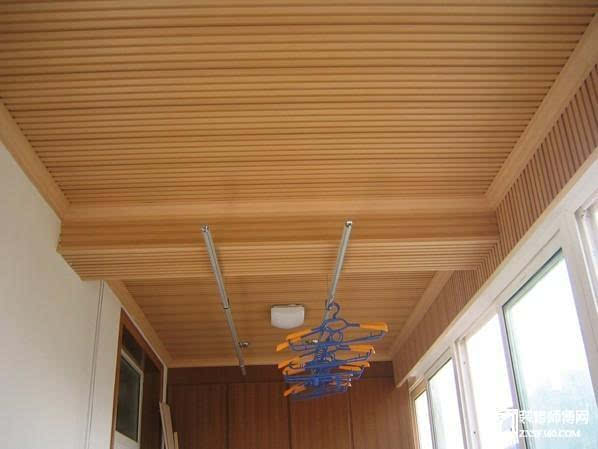 中式吊顶收边条