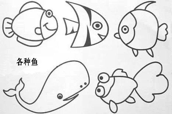 假期教孩子画画吧 简笔画教程收藏好了