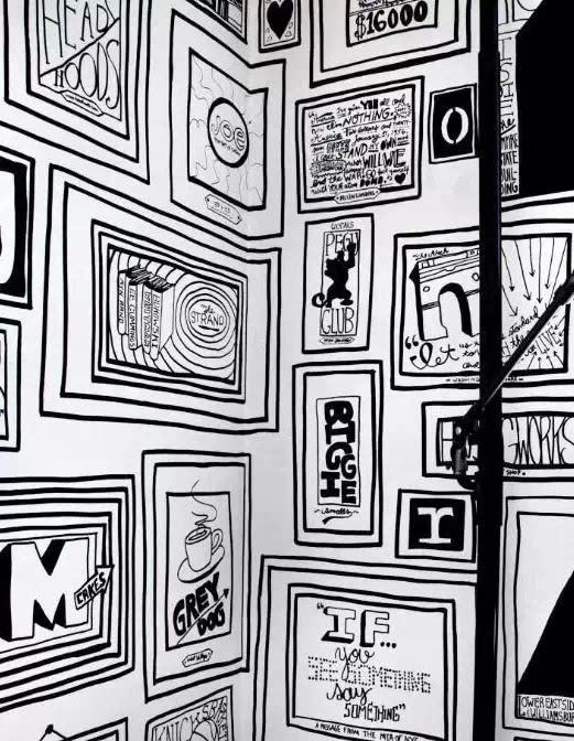 房间马克笔手绘图
