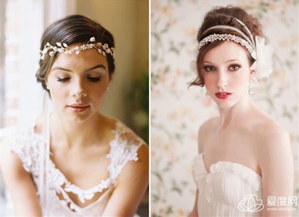 18种唯美复古风新娘发型