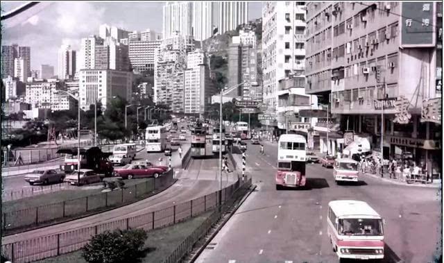 旧照片 70年代的香港和台北