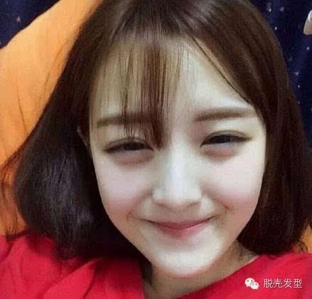 萌妹子发型(短发+薄刘海)
