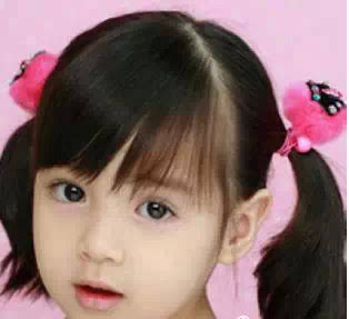 羊角辫 夸张发饰,孩子其实最喜欢这个发型.图片
