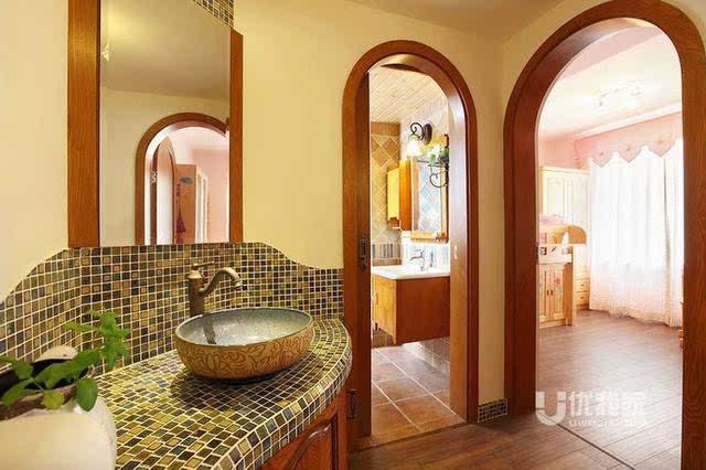 室内欧式拱门造型
