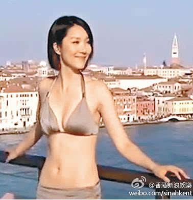 王祖蓝新婚妻子李亚男性感比基尼照曝光