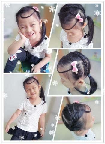 简单又可爱小女孩漂亮发型