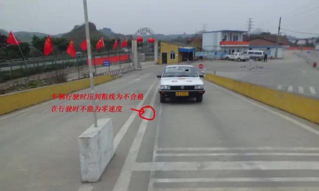 技巧图解   上坡定点停车和起步技巧   直角转弯,侧方停车  高清图片