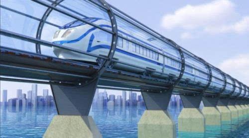 美国将建造时速1100公里超级高铁