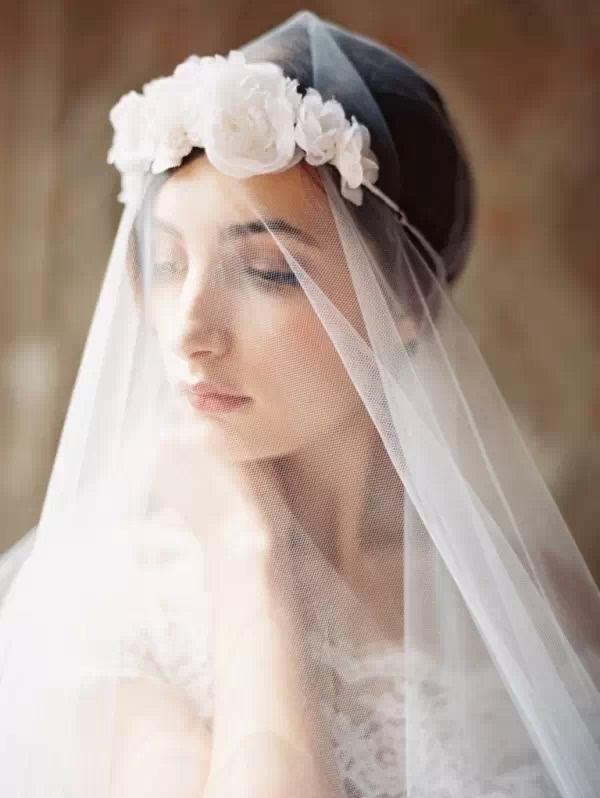 2015年之流行 小清新新娘发型图片
