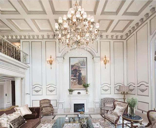 别墅设计:欧式古典400平独栋别墅设计鉴赏
