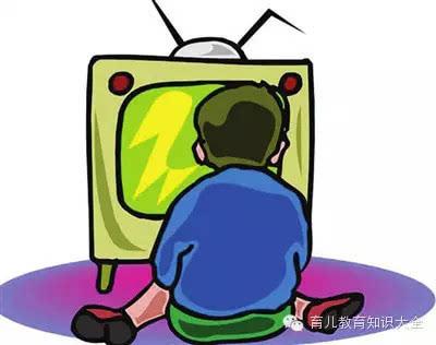 小孩子看电视有什么禁忌?图片