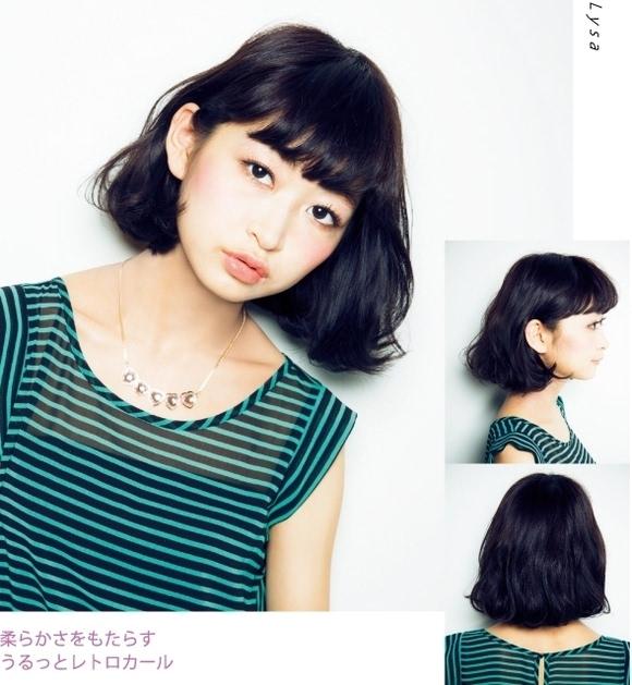 日本人气女生流行发型