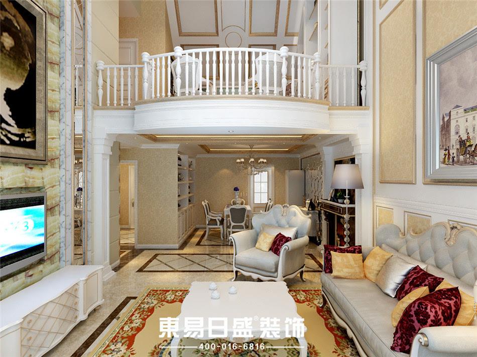 济南欧式古典装修风格案例赏析 奢华的法式艺术宫殿