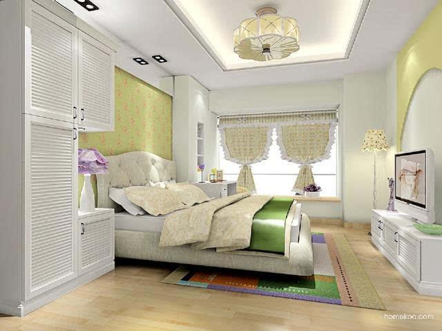 韩式田园风格如何装修?韩式田园卧室效果图欣赏