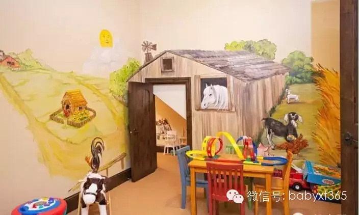 创意手绘墙:给孩子一个灵动多彩的童年