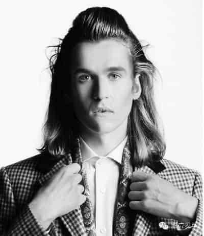 2015男士艺术发型大片图片