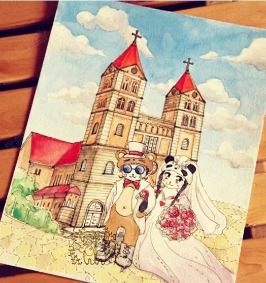 外地朋友来青岛,按手绘旅行攻略玩吧!