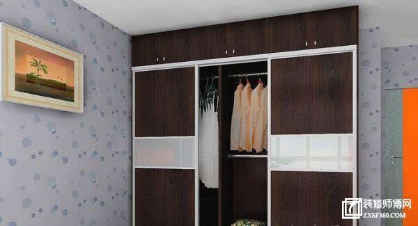 商家对衣柜内部结构不予划分或者仅有简单划分