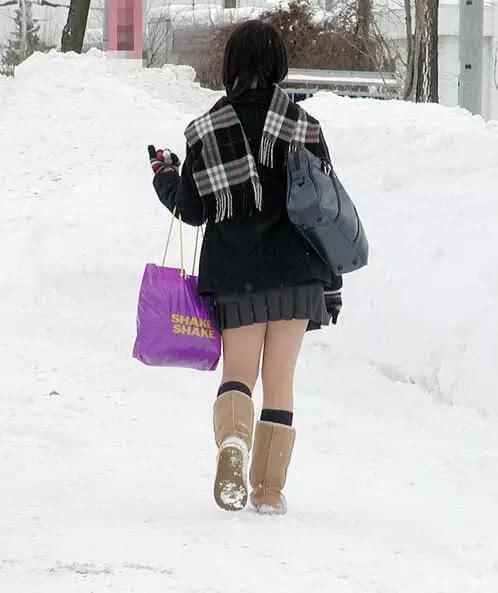 真实需要:北海道的高中女生真的不冷-搜狐高中钱美国采访上多少图片