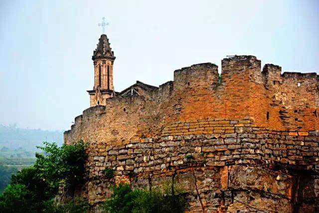 欧式古代城墙图片建筑图