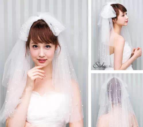 新娘丸子头扎法步骤图解