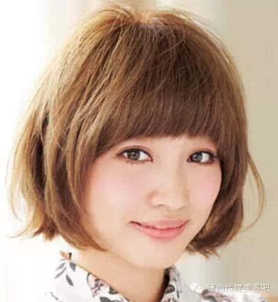 头发少的女生适合什么发型?长发短发全有!图片