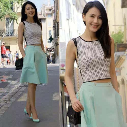 夏日跟高圆圆林志玲学怎么穿裙子 让你瞬间美翻天
