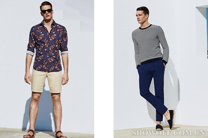 mango释出最新的男装时尚型录