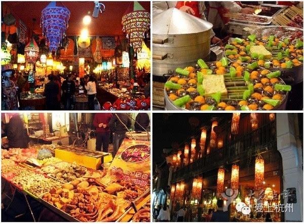 【爱上杭州】美食达人一定要去的美食街美食节心得幼儿园图片