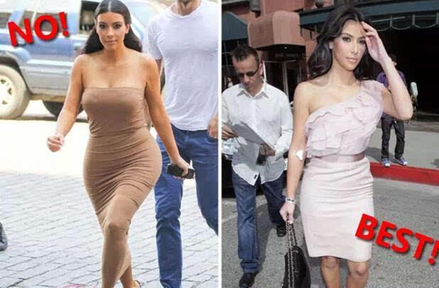 错误穿衣:肩宽的女生最好就不要选择露肩款式
