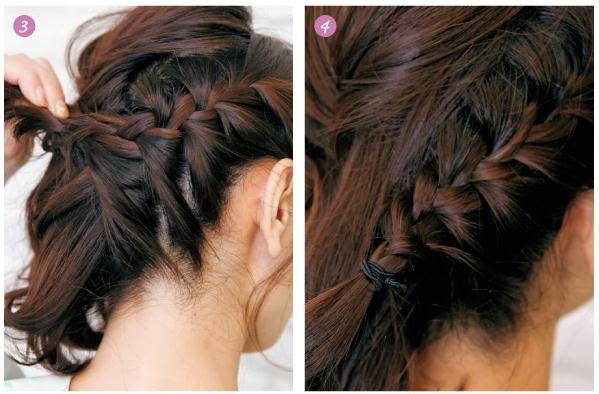 发型控 母女如姐妹 母亲节为咱妈编个辫子吧图片