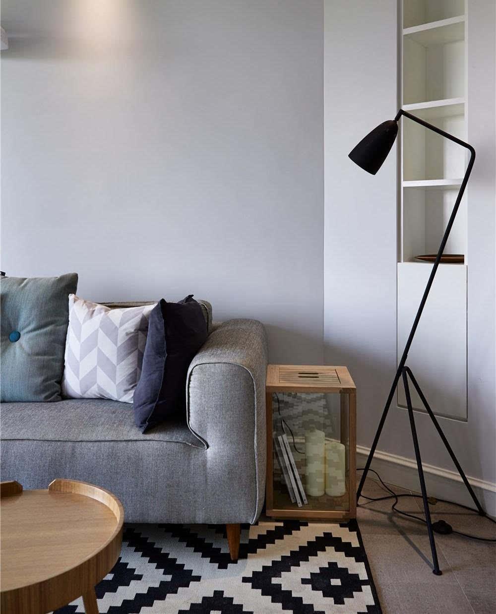 85平米两居室 北欧风格装修案例!太美了!图片